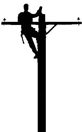 Journeyman Lineman Clipart.