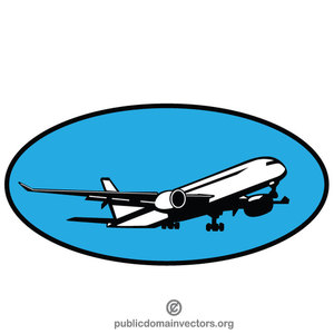363 airplane free clipart.