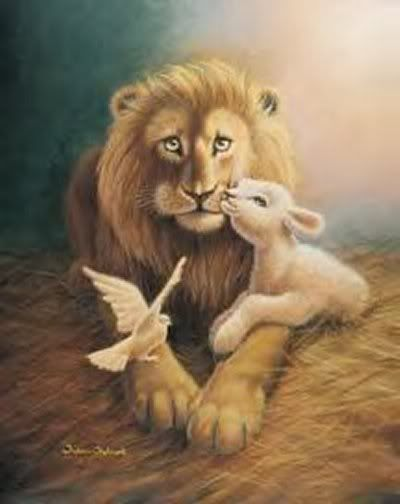 clip art: Lion And Lamb Clipart.