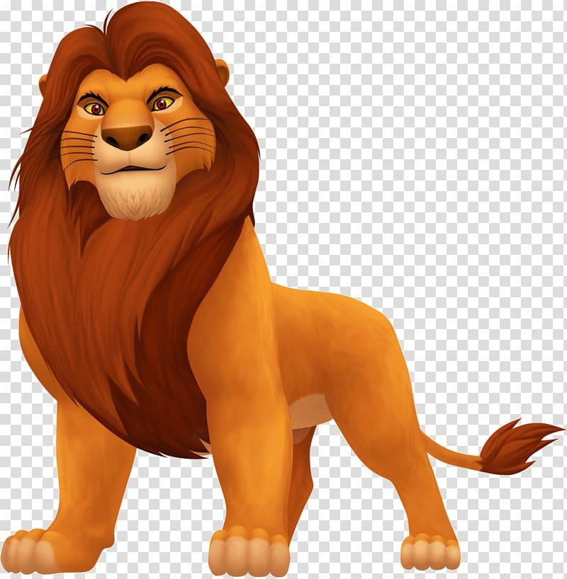 Simba , Mufasa Simba Scar Sarabi Lion, lion king transparent.