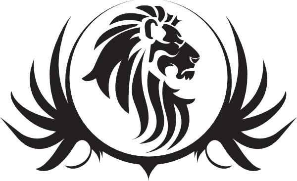 detroit lions logo stencil.