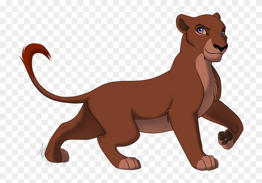 Lioness Clipart Realistic.