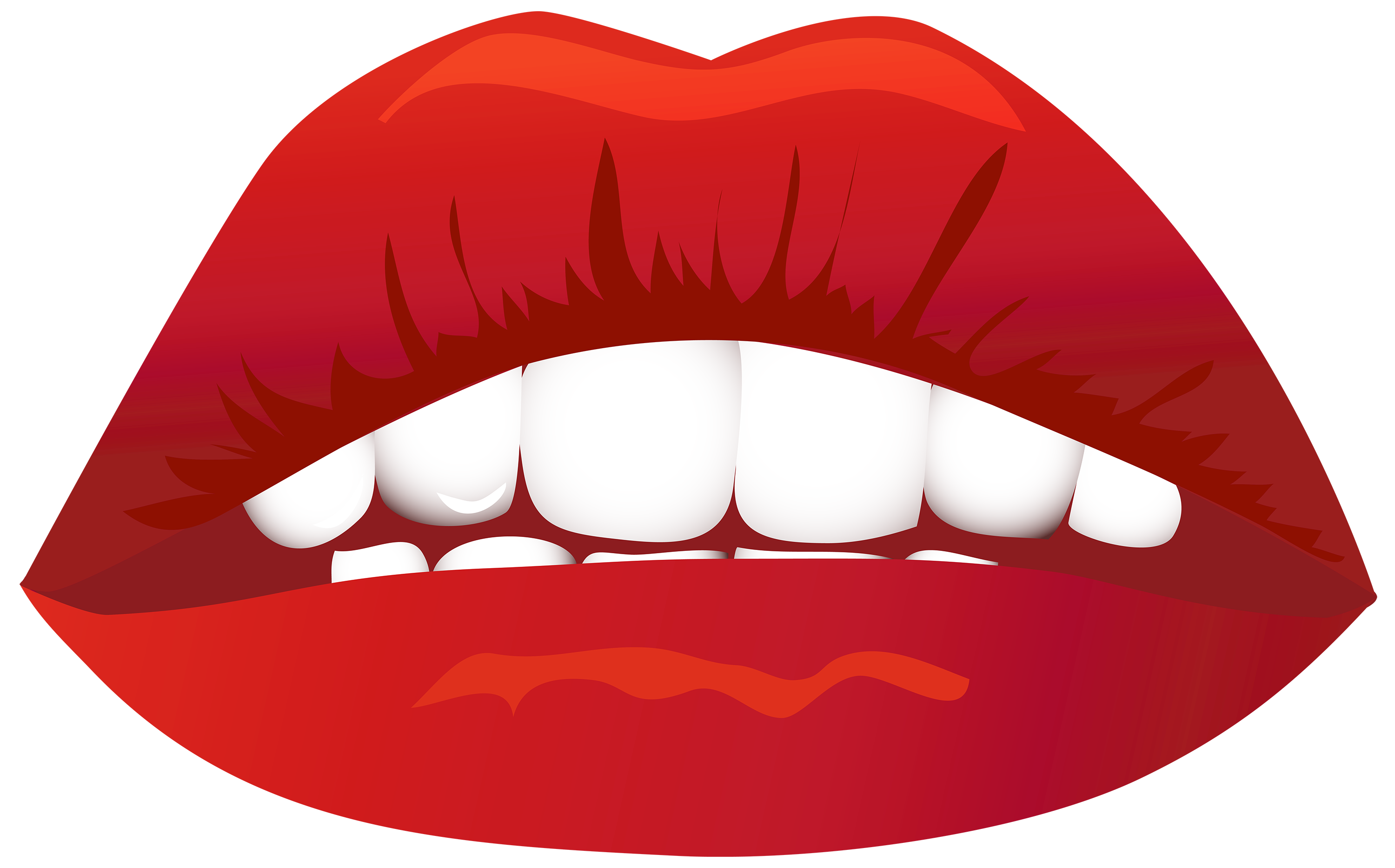 Lips PNG Clipart Image.