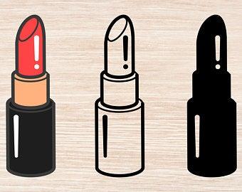 Lipstick svg.