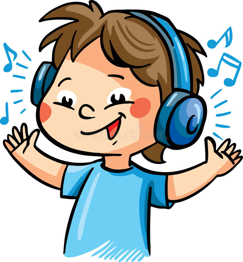 Listening To Music Clipart Headphones Clip Art Conventional Cliparts.