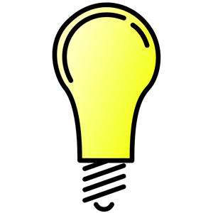 Lightbulb Lit clipart, cliparts of Lightbulb Lit free download (wmf.