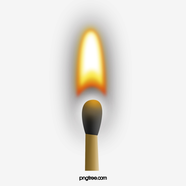 Lit Matches, Matches, Ignite, On Fire PNG Transparent Clipart Image.