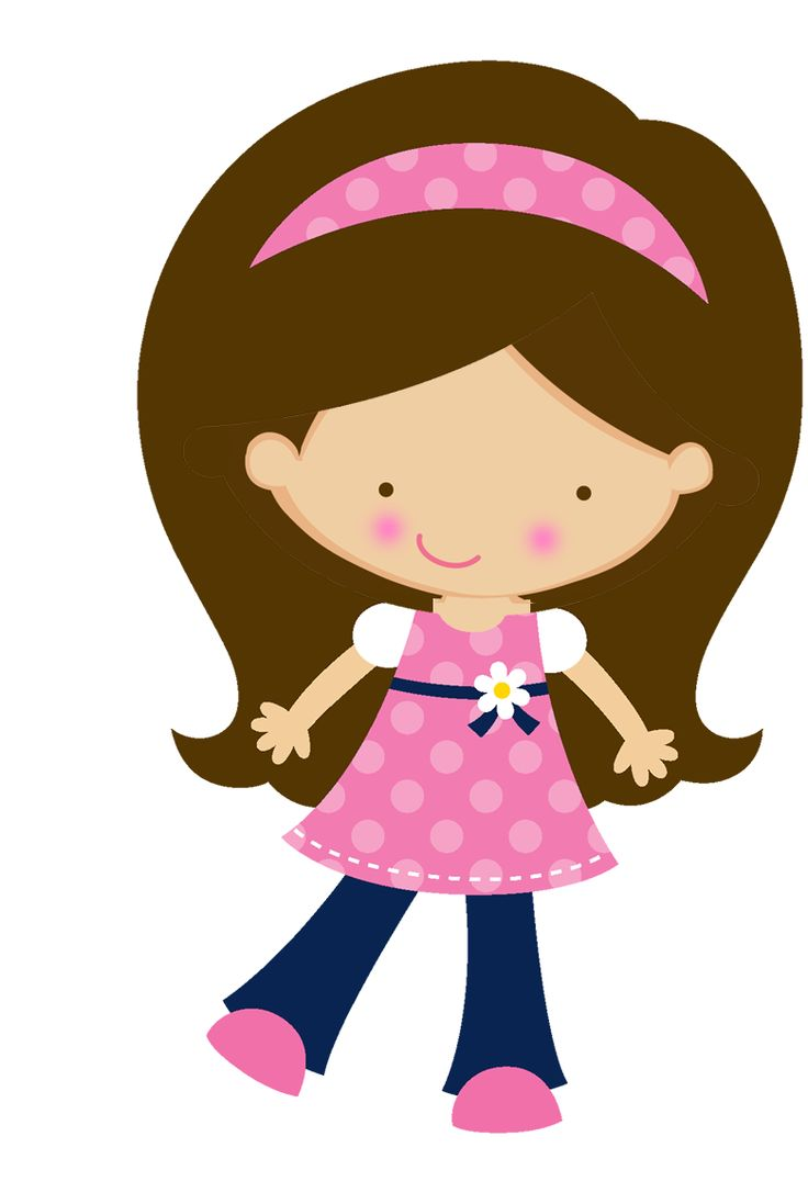 Little girl clipart 4 » Clipart Station.