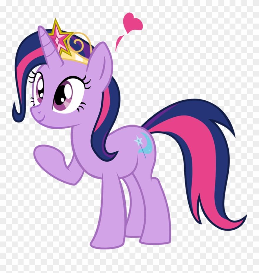 My Little Pony Clipart Purple Pony.