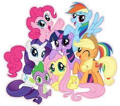 91+ My Little Pony Clip Art.