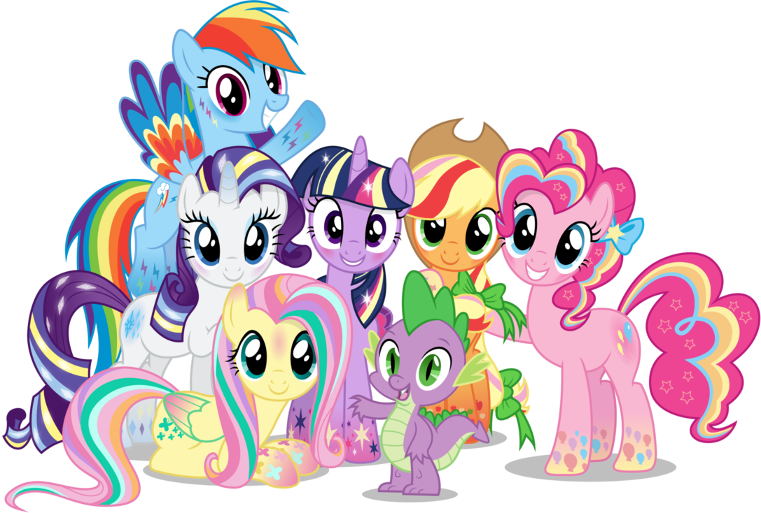 My Little Pony Clipart Group.
