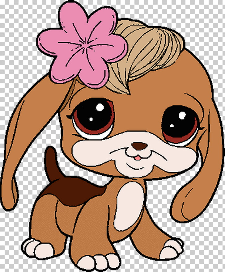 Puppy Littlest Pet Shop , cheburashka PNG clipart.
