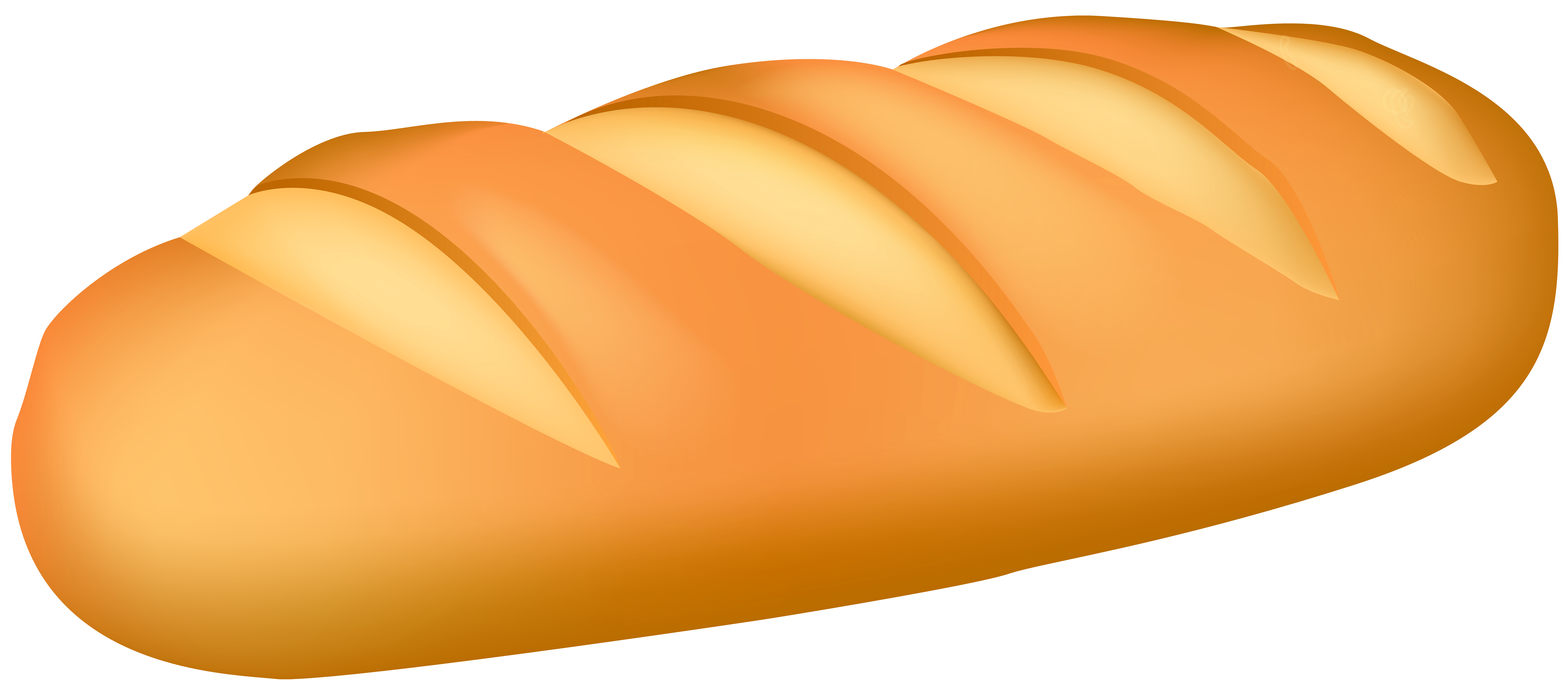 Loaf Bread PNG Clip Art.