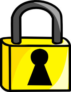Closed Lock Clip Art at Clker.com.