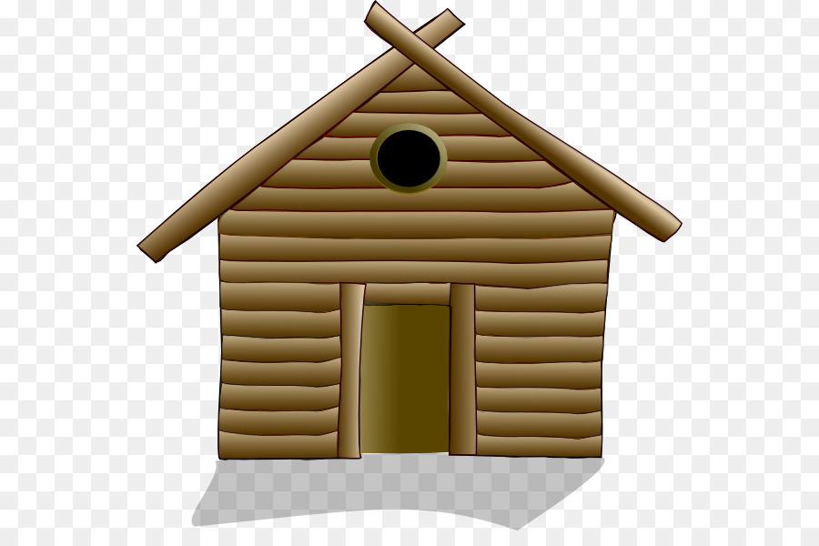 House Home Log cabin Clip art.