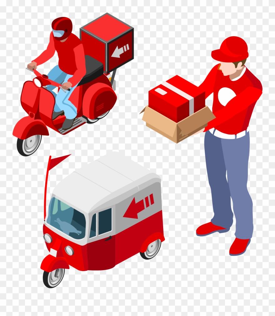 Logistics Delivery Clip Art.
