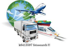 Logistics Clipart.