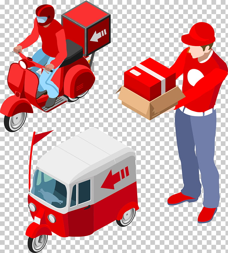 Logistics Delivery , Business Express small Geka through.