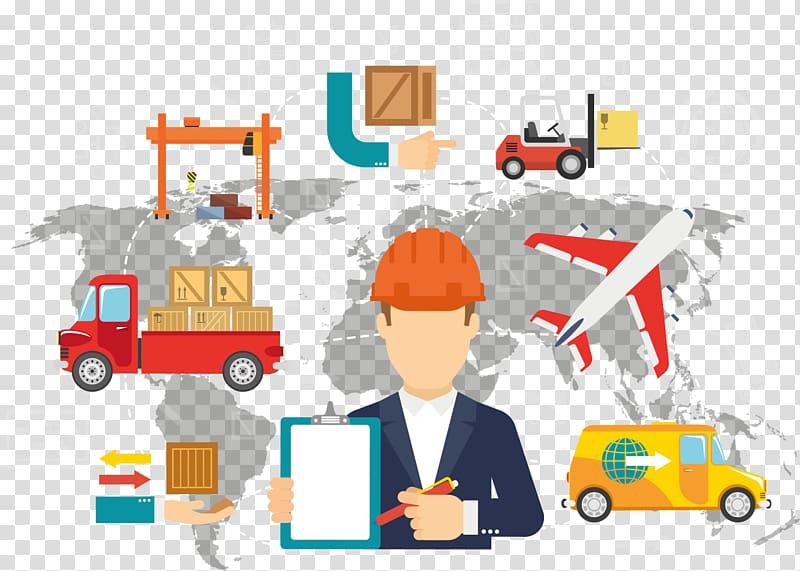 Logistics technique Transport Bedürfnis Management, Business.