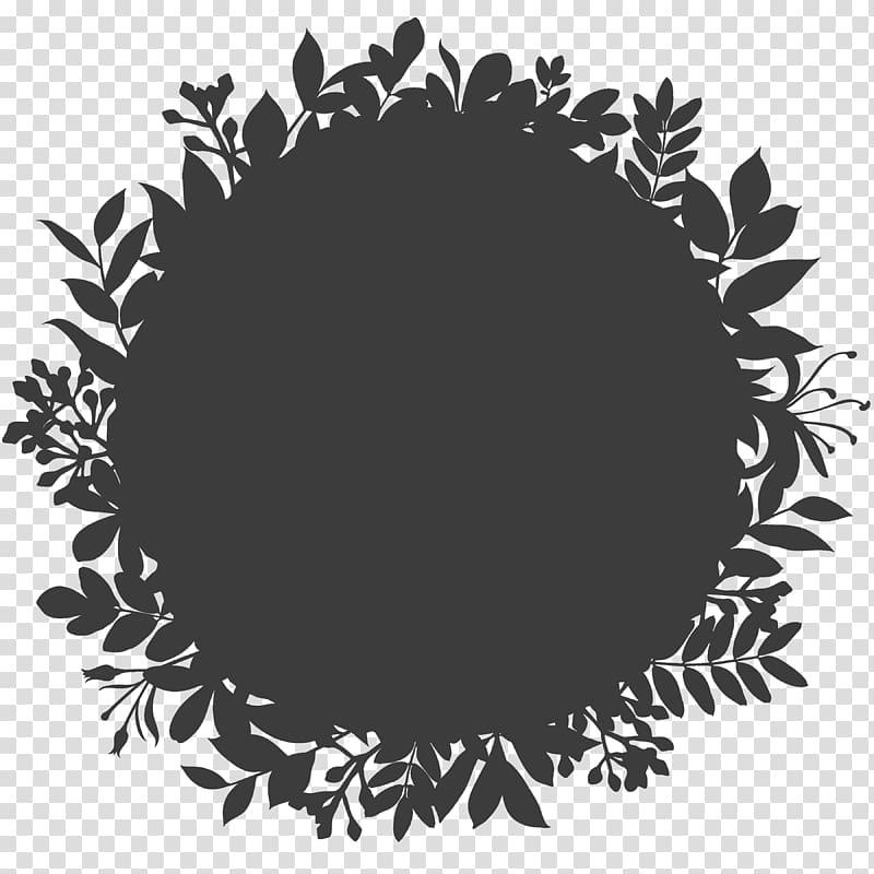 Logo Tile Ornament , Black logo background shading pattern.