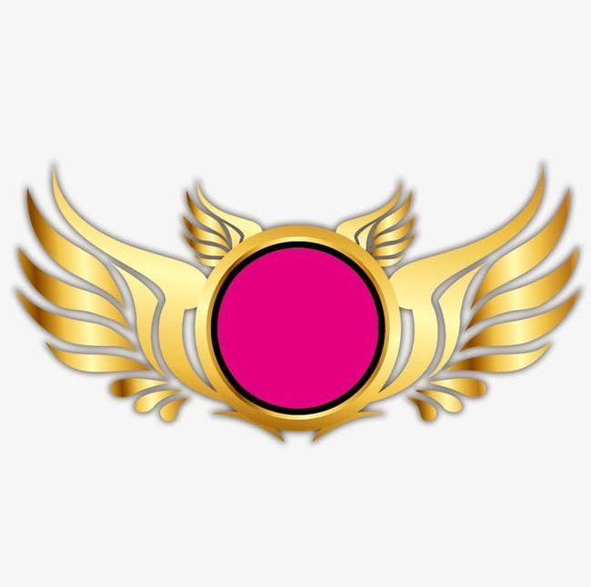 Badges Logos Golden Effect PNG, Clipart, Badges Clipart.