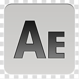 Quadrates Extended, Adobe After Effect logo transparent.