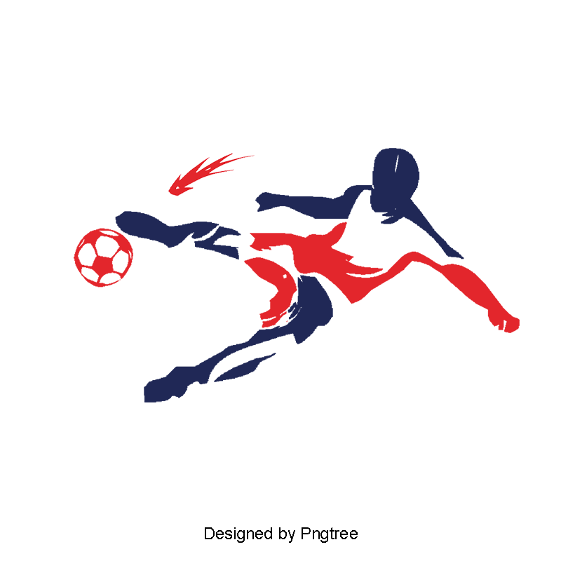 Soccer Player Design Hd Deduction Material, Soccer Clipart.