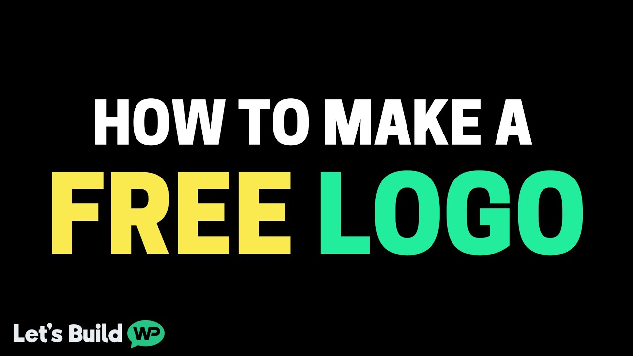 How To Make A Logo Using A Free Logo Maker & No Skill!.