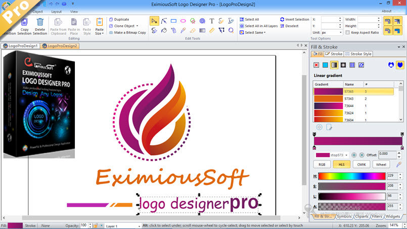 The best Logo Design Software.