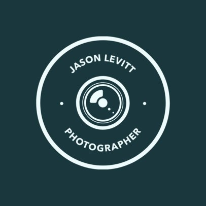 Photographer Logo Maker.