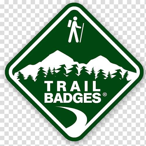 Logo Name tag Brand Trail, design transparent background PNG.
