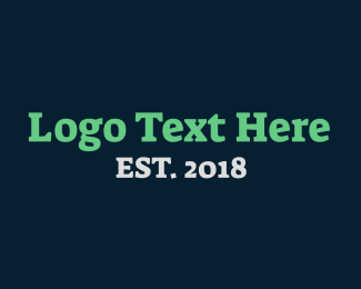 Text Logo Maker.