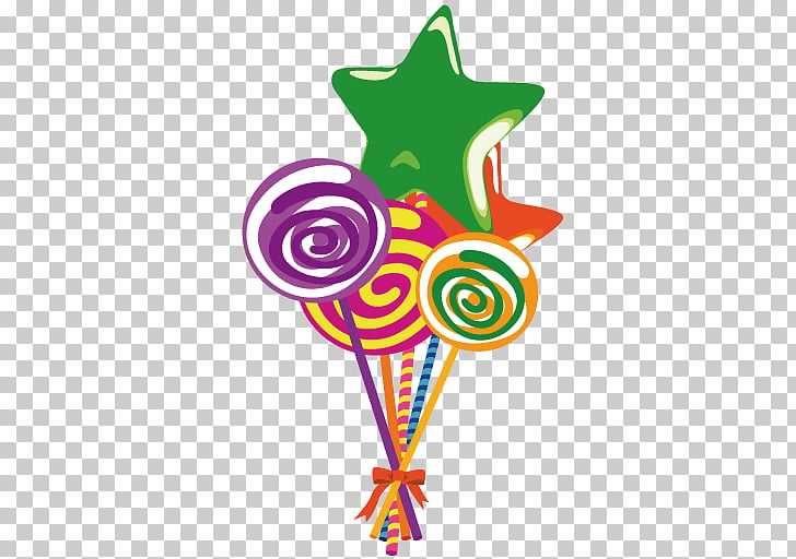 Food symbol lollipop, Lollies, lollipop and stars PNG.