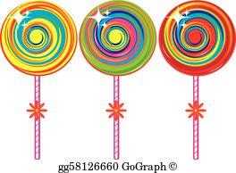 Lollipop Clip Art.