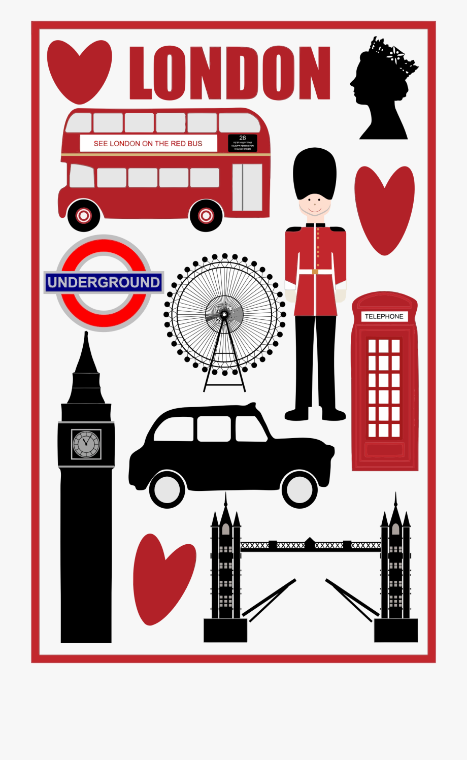 London Free Clipart.