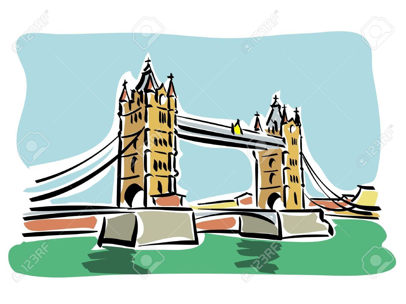 London bridge clipart 6 » Clipart Station.