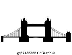 London Bridge Clip Art.