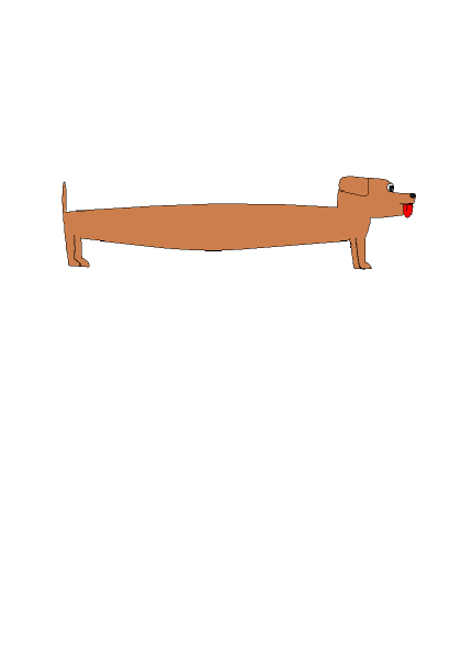Long Sausage Dog Clip Art at Clker.com.