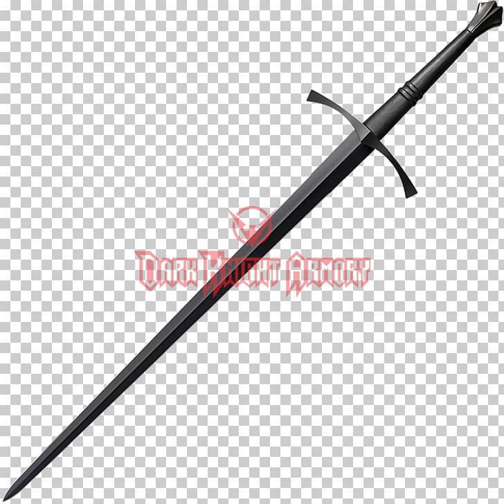 Longsword Japanese sword Ōdachi Weapon, italian man PNG.