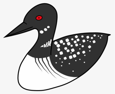 Free Loon Clip Art with No Background.