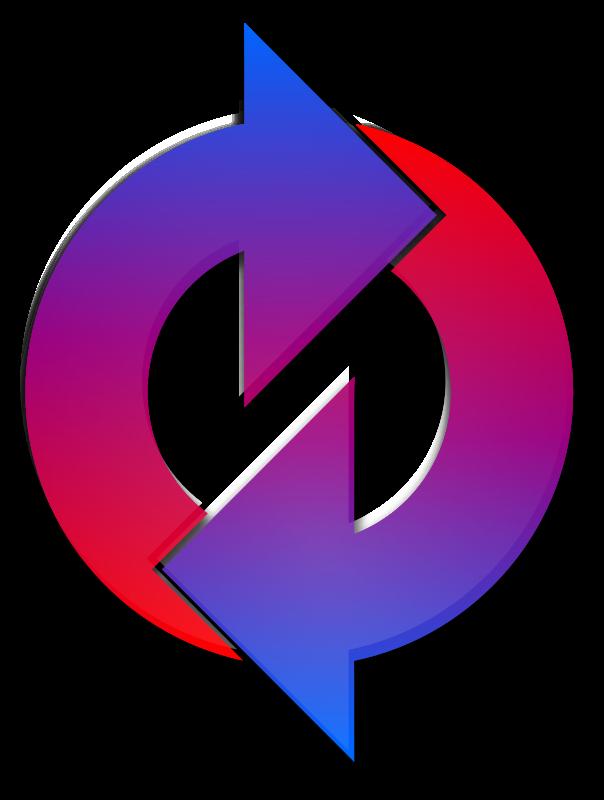 Free Clipart: Loop Arrow Redux.
