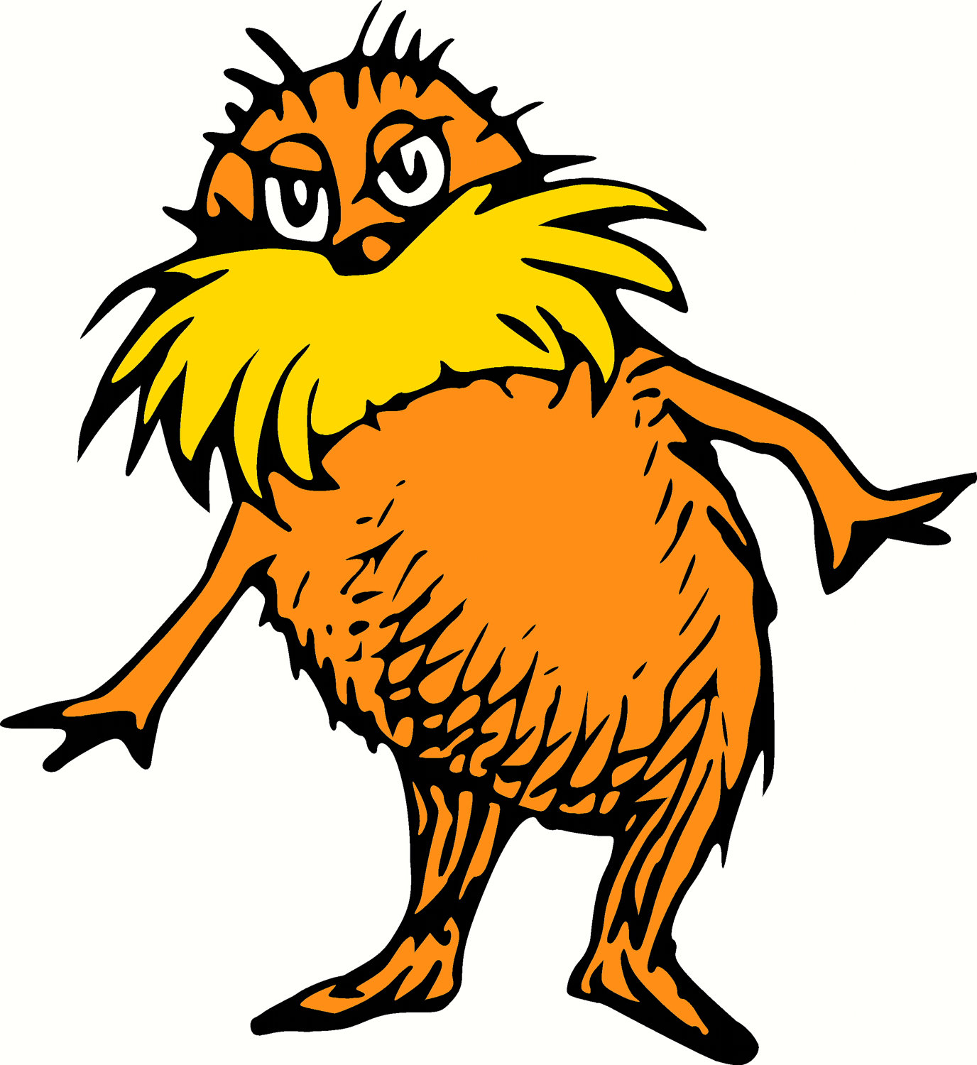 102+ The Lorax Clip Art.