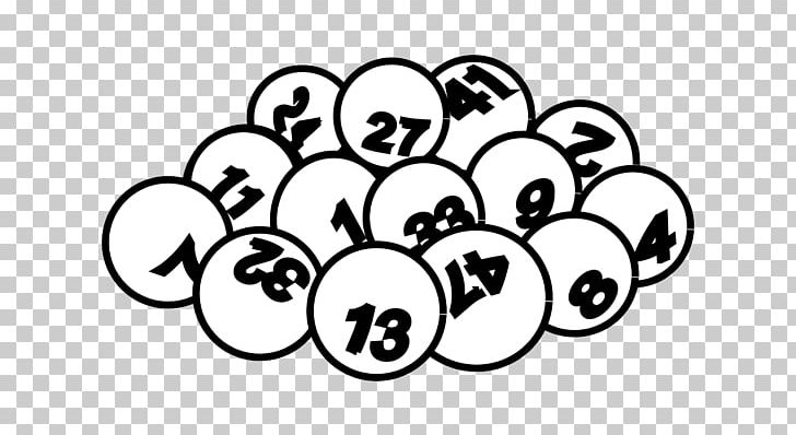 The Lottery Powerball PNG, Clipart, Area, Black And White, Circle.