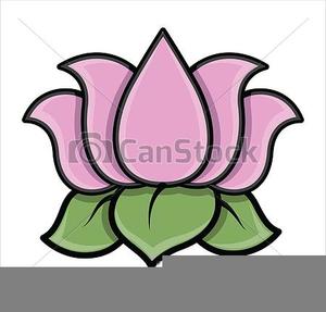 Clipart Lotus Blossom.