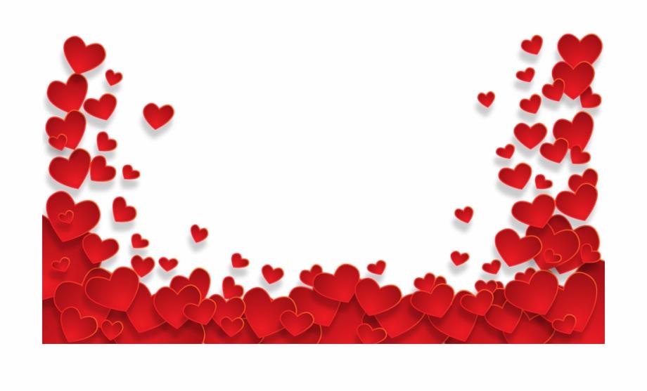 Heart Transparent Love Wallpaper Background Happy Valentine.