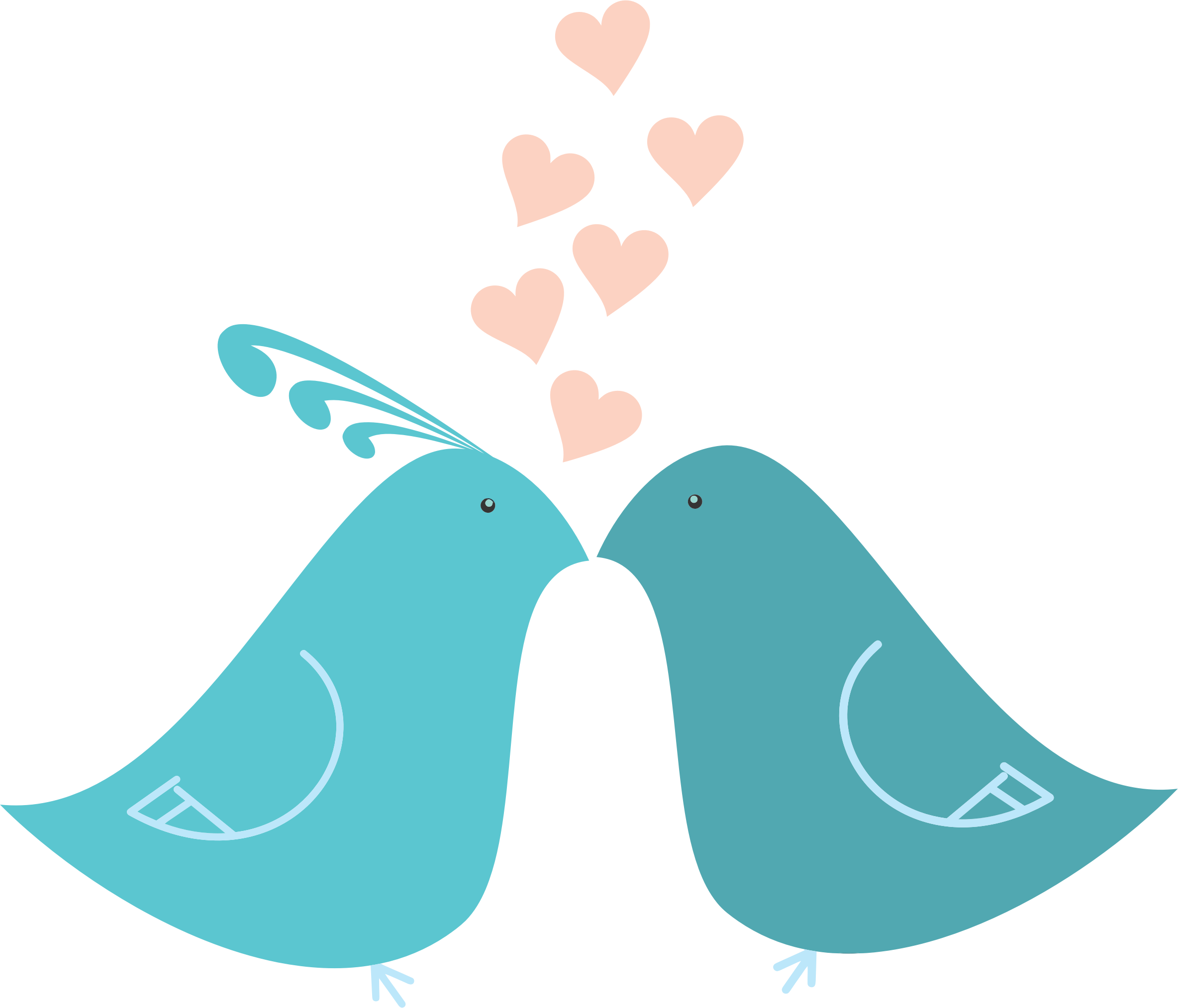 Love Birds Clipart Png.