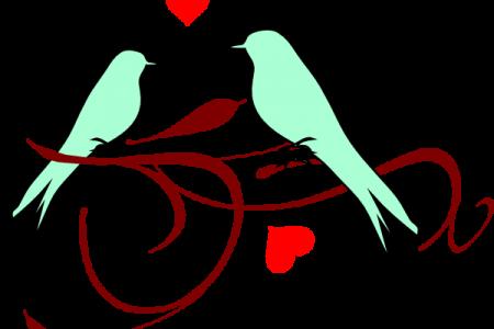 Clipart Love Birds Clipartsco, Love Birds Flying Clip Art.