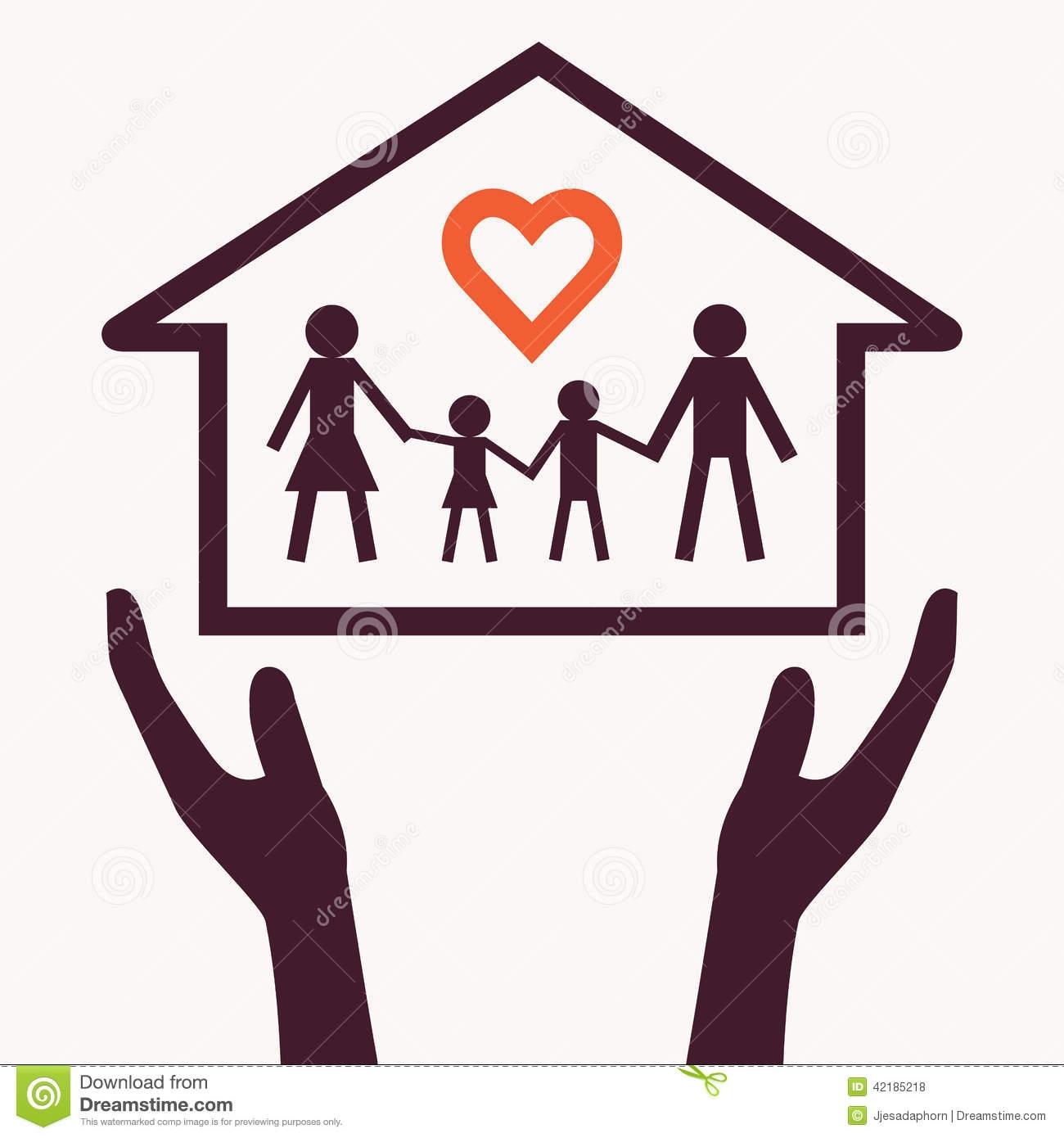 Love Family Clipart.