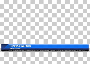 Lower third, lower thirds, red and white border PNG clipart.