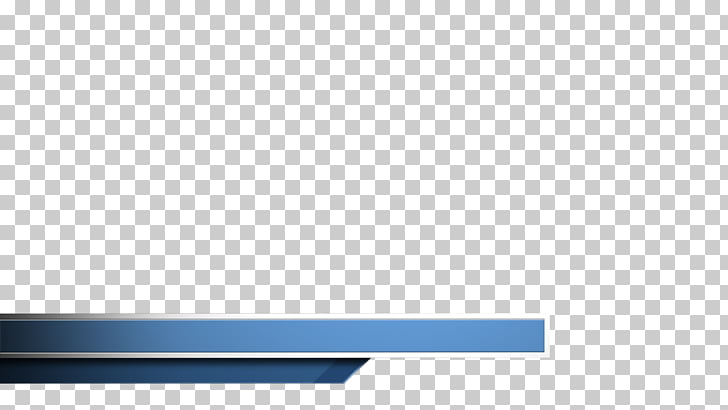 Rectangle Brand, lower third, blue banner PNG clipart.